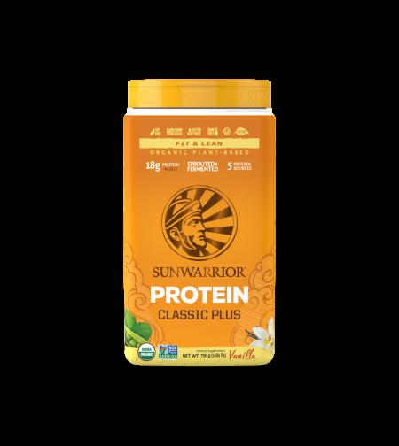 חלבון טבעוני וניל sunwarrior