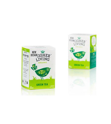הייר ליווינג - תה ירוק אורגני