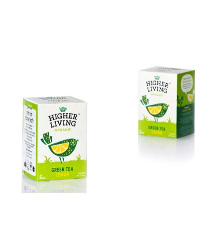 הייר ליווניג - תה ירוק לימון אורגני