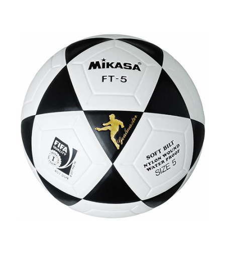 כדור כדורגל עור סינטטי מספר 5 Mikasa FT-5