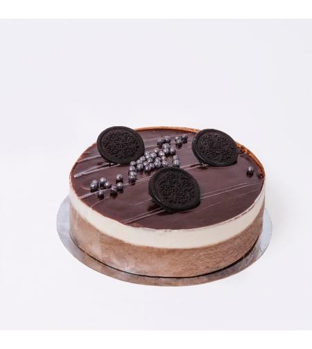 עוגת שוקולד וניל | פרווה - בד
