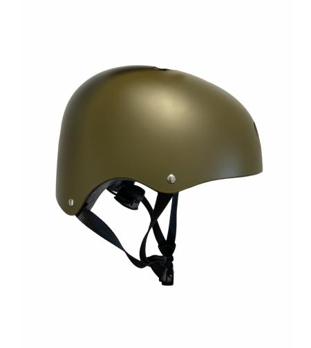 קסדה לאופניים וקורקינט לבני נוער ומבוגרים -צבע ירוק צבאי