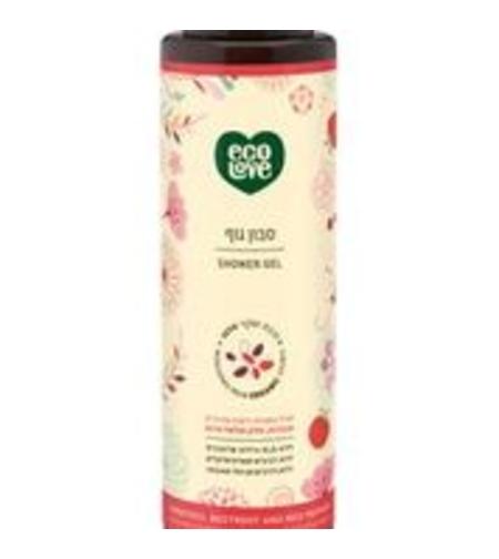סבון גוף ecolove הקולקציה האדומה