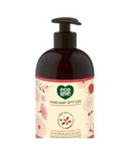 סבון ידיים ecolove הקולקציה האדומה
