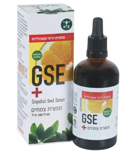 GSE+   תמצית זרעי אשכוליות פלוס - ברא