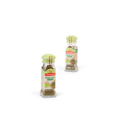 קנמלה - פלפל שחור טחון אורגני