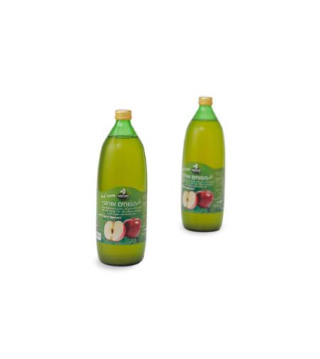 נטורפוד - מיץ תפוחים אורגני 100% טבעי