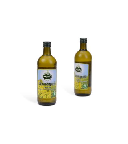 נטורפוד - שמן קנולה אורגני