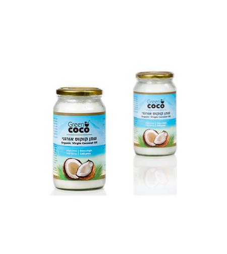 גרין קוקו - שמן קוקוס אורגני 1000 מ