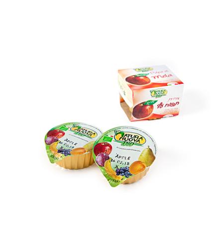 נטורה נובה - מחית תפוח אורגני
