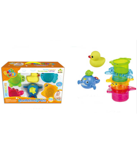 סט צעצועים בצורת חיות לאמבטיה 32X19 ס