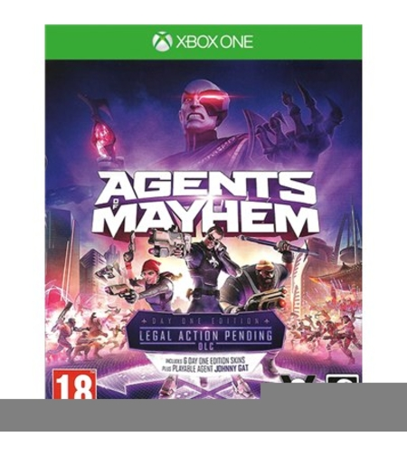 Agents of Mayhem לקונסולת Xbox One