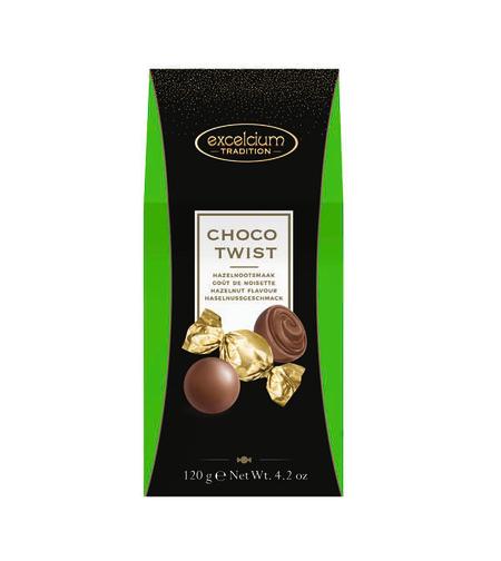 CHOCO TWIST - HAZELNOOTSMAAK - אוגזי לוז