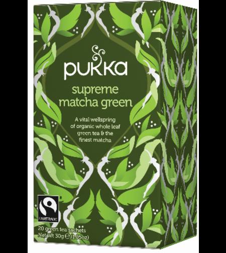 תה ירוק מאצ'ה Pukka