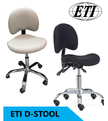 כסא רופא / סייעת ETI - דגם D-STOOL
