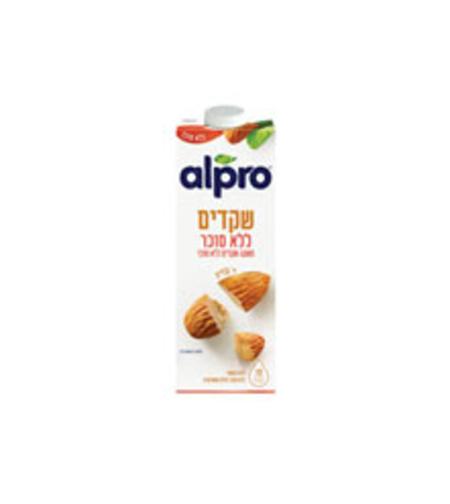 אלפרו משקה שקדים ללא סוכר