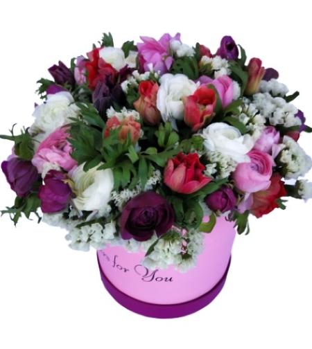 סידור פרחים חורפי