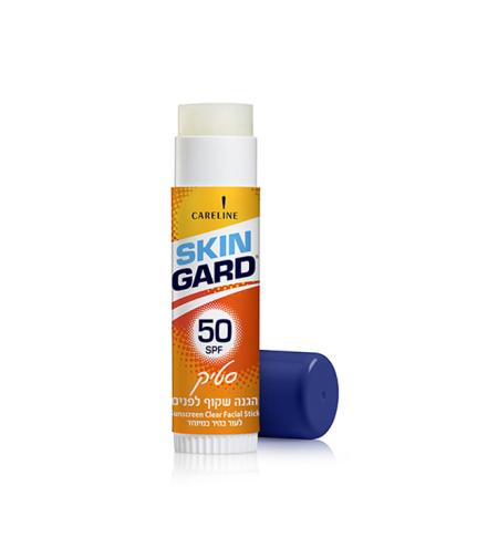 סקין גארד סטיק הגנה שקוף לפנים (50SPF)