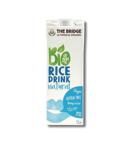 משקה אורז אורגני ללא תוספת סוכר the bridge