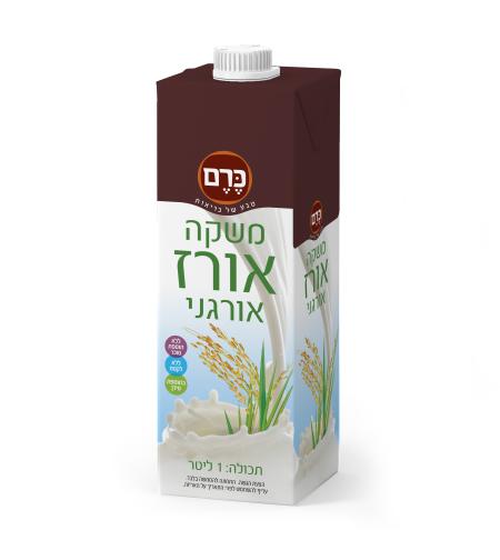 משקה אורז אורגני כרם
