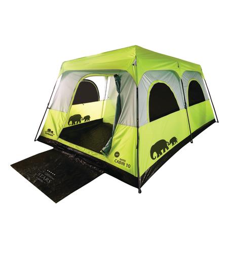 אוהל קמפינג ל-10 RAPID CABIN UPF50