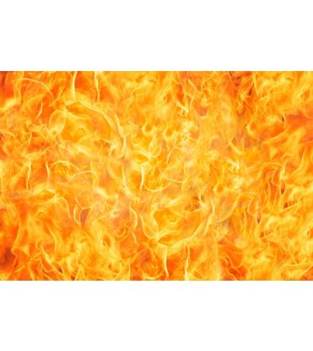 טפט מדבקה 35*35 דגם אש