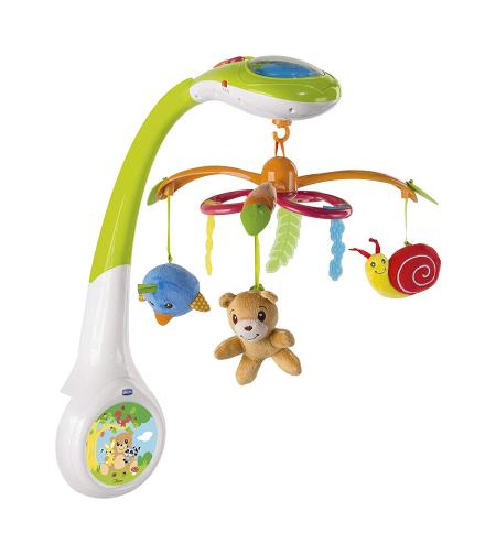 מובייל מוזיקלי היער הקסום עם מקרן - Toy Magic Forest Cot Mobile Projection צ'יקו Chicco