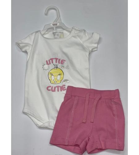 בגד גוף\מכנס קצר בייבי בנות