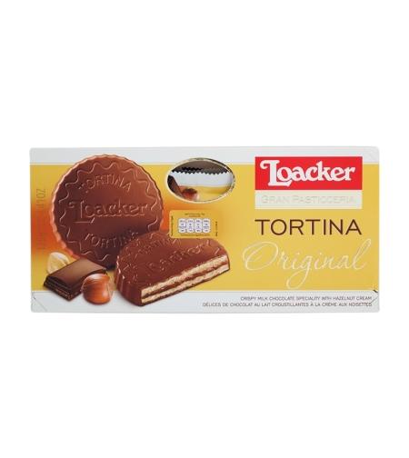 Loacker - TORTINA - לוהקר שוקולד חלב