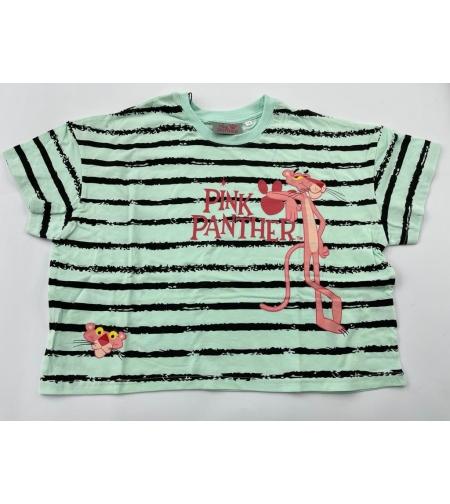 חולצה נערות 100% כותנה 14-18 (לבן\שחור\ורוד\טורקיז)