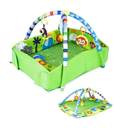 משטח פעילות עם כרית התפתחות - Baby Playing Mat CC9636-7