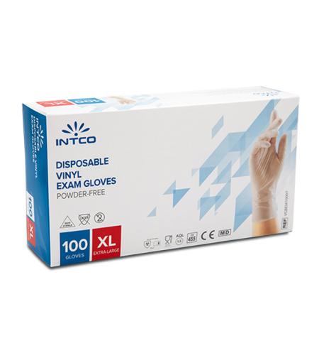 כפפות רפואיות ויניל - מידה XL