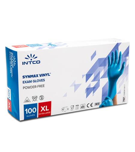 כפפות רפואיות ויניל מעורב ניטריל- מידה XL
