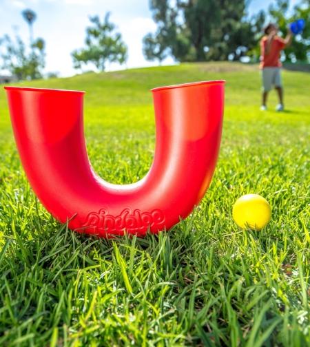 סט פינדלו  אדום + 2 כדורים ! דרך מדהימה לפיתוח המיומנות ומוטוריקה
