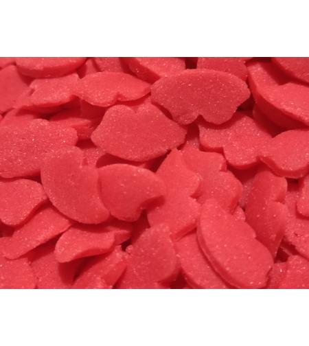 סוכריות שפתיים אדומות