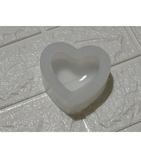 תבנית לב תלת מימד - 5 סמ * 5 סמ