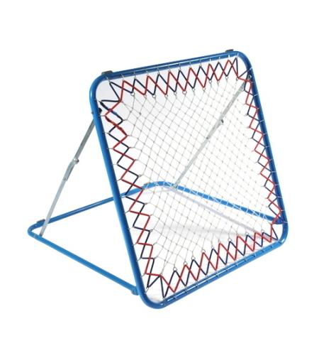 מתקן רשת מקצועי להחזרת כדורים – ריבאונדר 100*100 ס