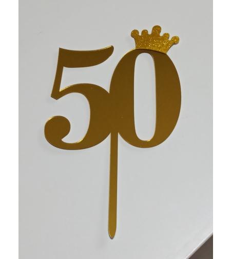 טופר 50 דגם 228 - צבע זהב