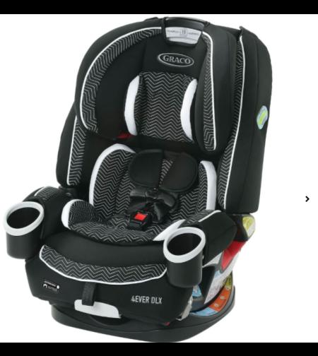 כיסא בטיחות גרקו פוראבר דלוקס GRACO 4EVER DLX מלידה