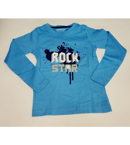 חולצת מעבר בנים FOCUS (כחול-אפור עכבר-אפור) מידה 2-8