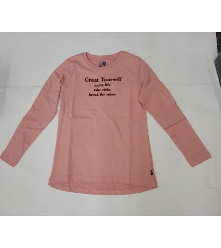 חולצה מעבר בנות Keds (ורוד-לבן) 8Y-12Y שנים