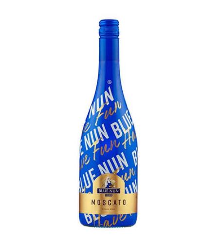 BLUE NUN MOSCATO יין לבן מתוק מבעבע קלות | כשר