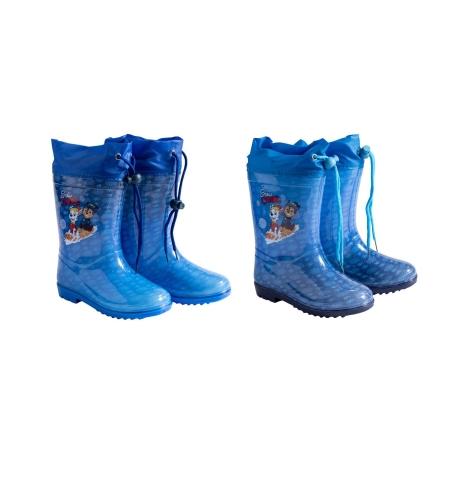 מגפי גשם מותגים בנים 23-29 (כחול-כחול כהה)
