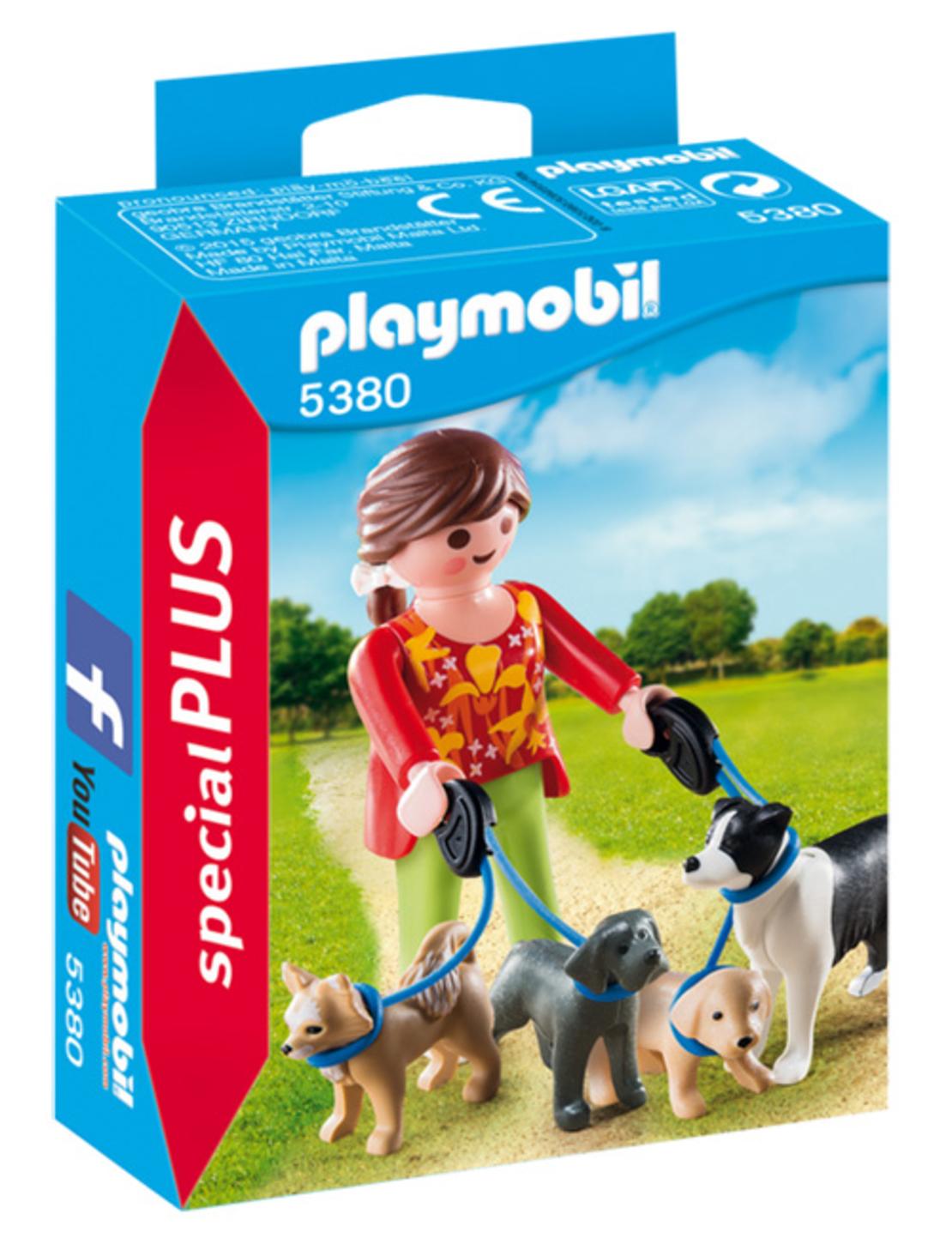 פליימוביל 5380 - מטיילים בגן הכלבים