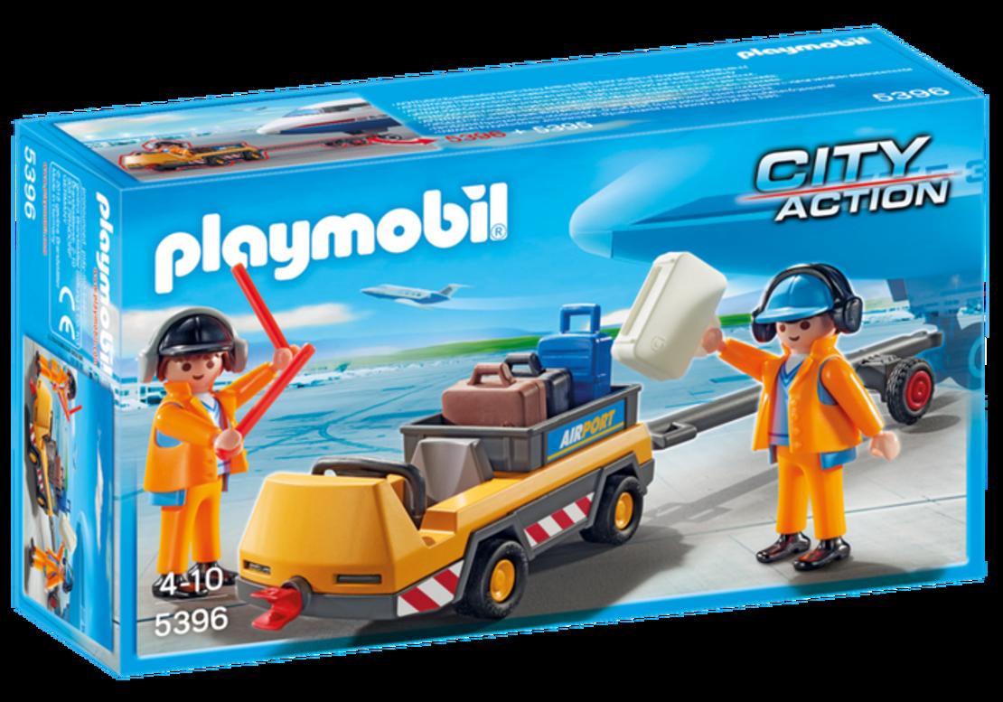 פליימוביל 5396 - צוות קרקע ומסוע מטענים
