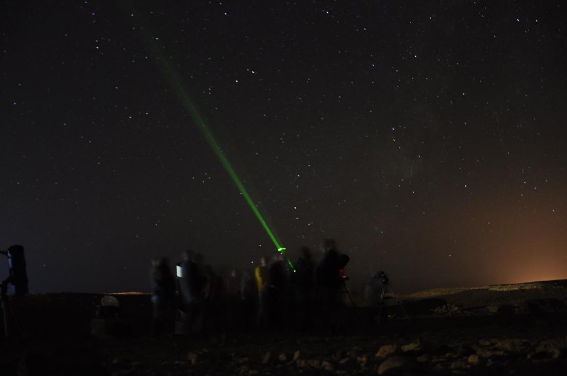 תצפית אסטרונומיה מודרכת (תאריכים לאוקטובר 2020) בשעה 19:30