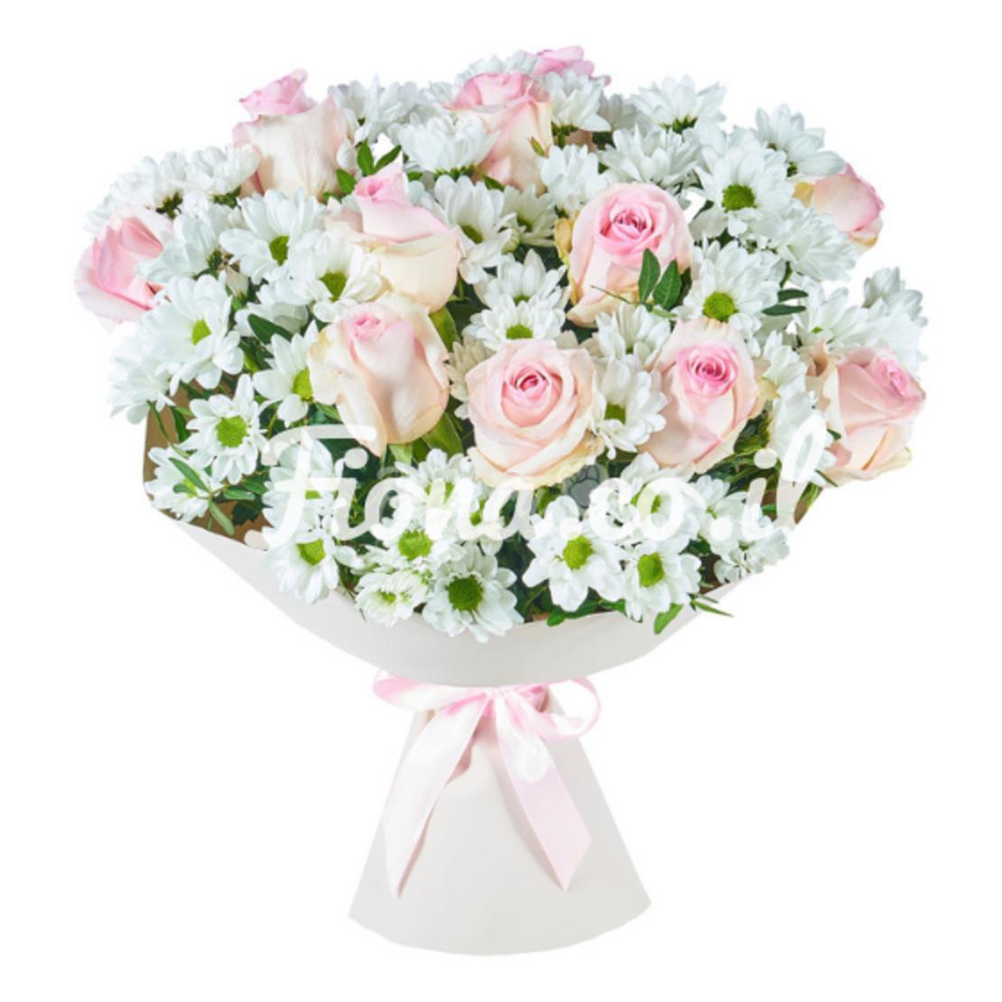 זר פרחים משיכה #4