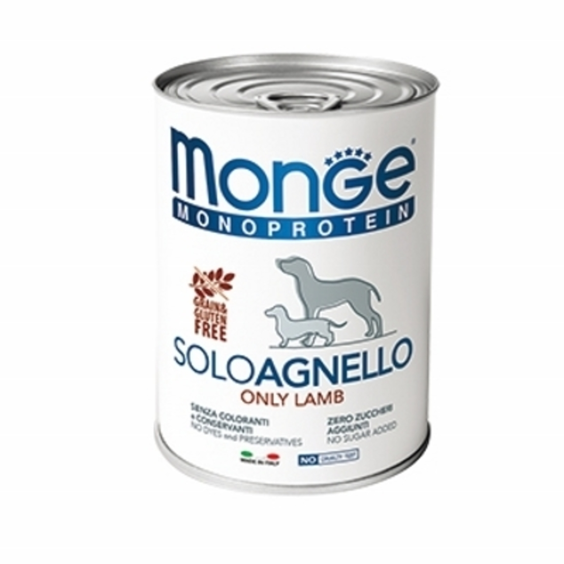 MONGE מונג' מזון רטוב לכלבים מונו פרוטאין בטעם כבש 400 גרם