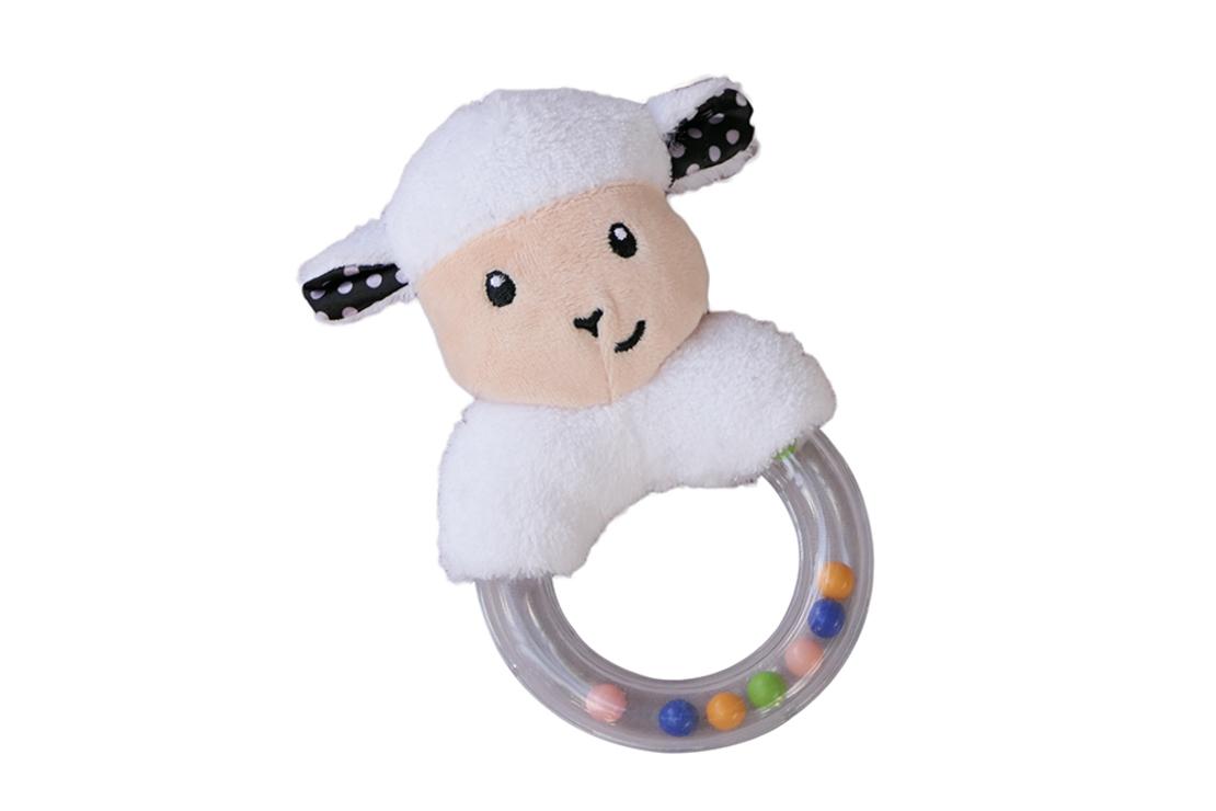 1#  - אהבה רכה לבת ולבן : מתנת לידה המכילה סלסילה לעיצוב החדר עם מראה בטיחותית לרכב, כירבולית טטרה רכה ענקית, רעשן טבעת וברווז לאמבט