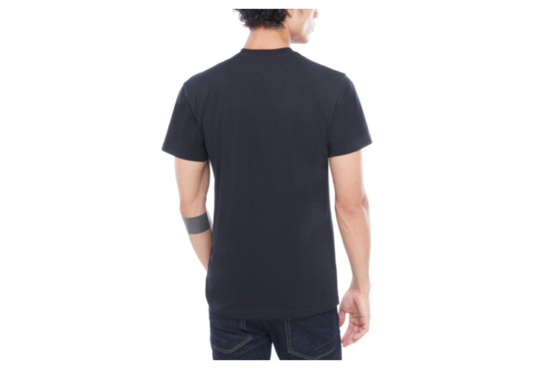 Vans - טי שירט לוגו קלאסית בשחור